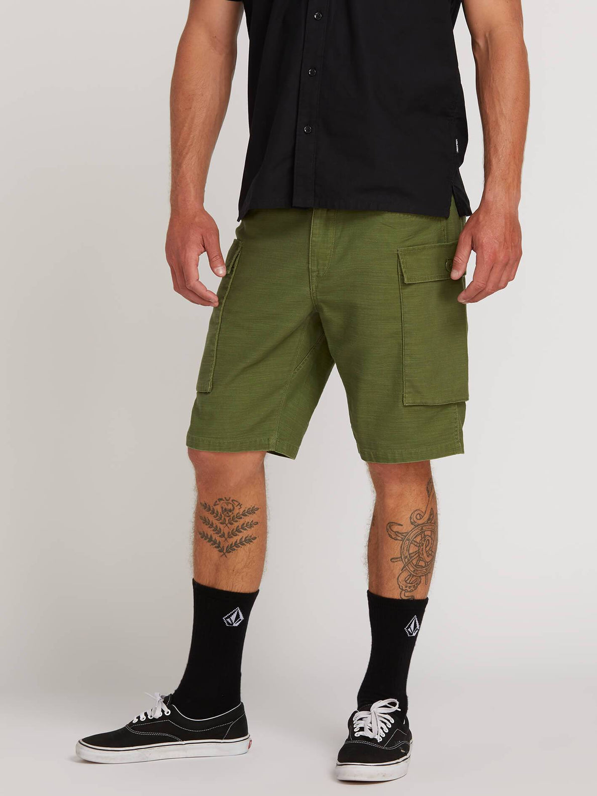 0c9dfc42f6 Gritter Cargo Shorts - Army – Volcom
