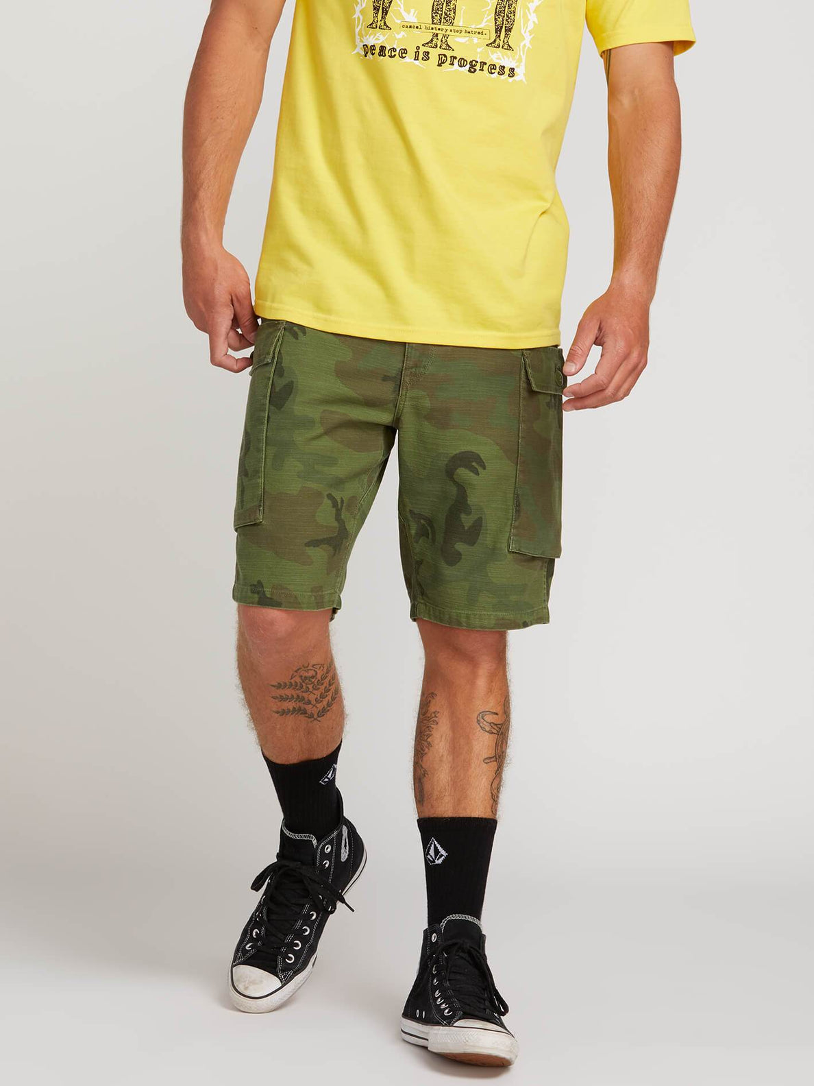 f2432f8614 Gritter Cargo Shorts - Camouflage – Volcom
