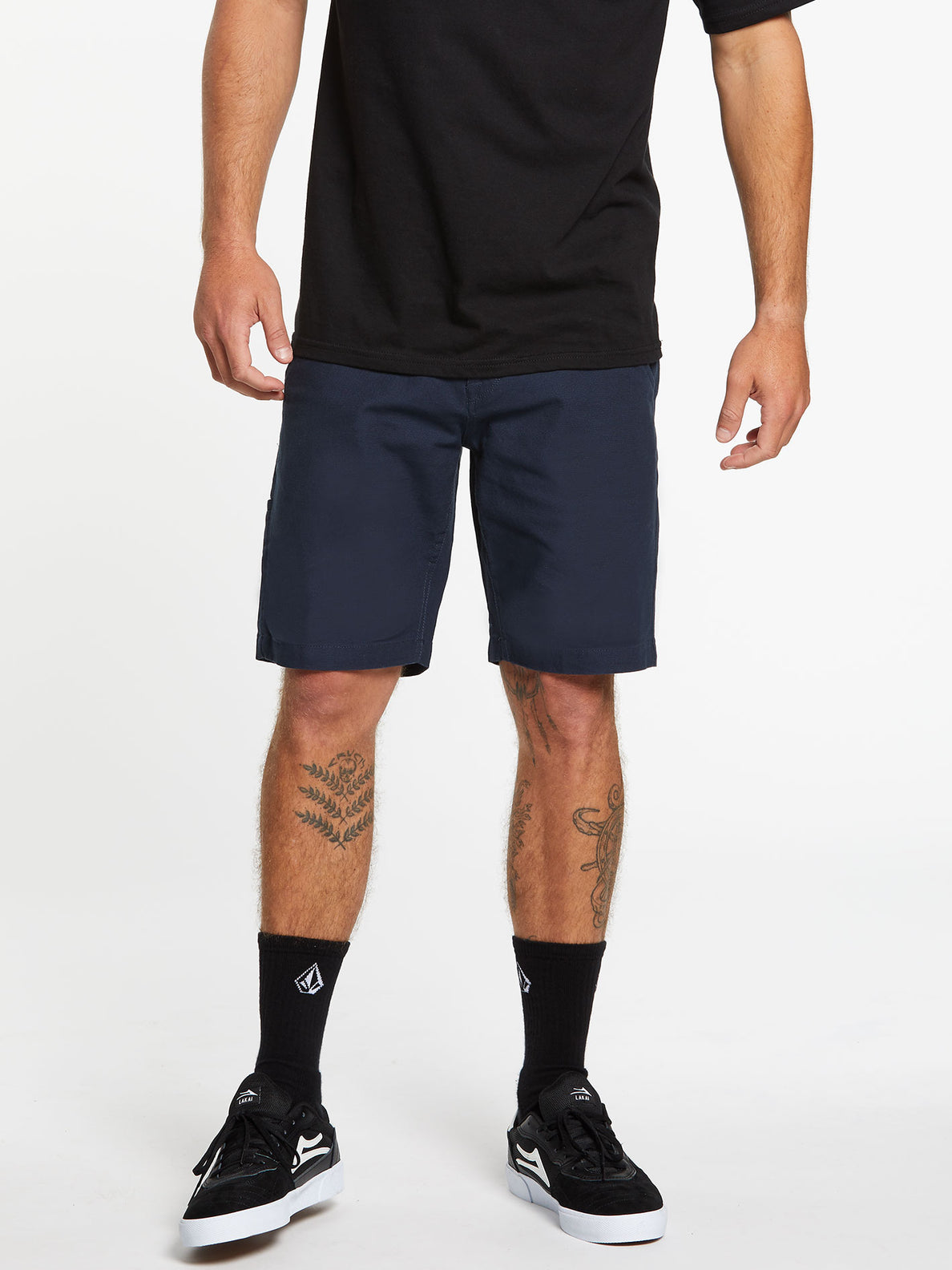 The Down Low Shorts - Dark Navy (A0912001_DNV) [1]