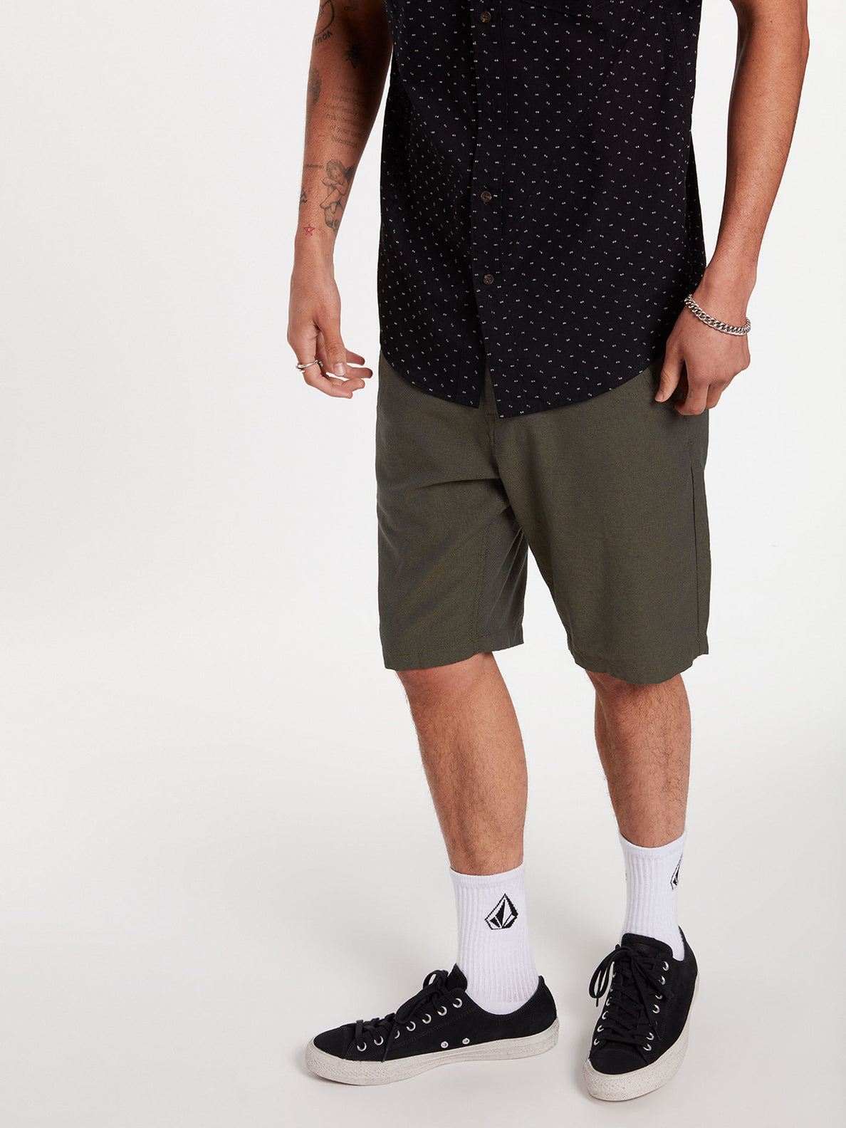 The Down Lo Shorts - Military (A0912001_MIL) [08]