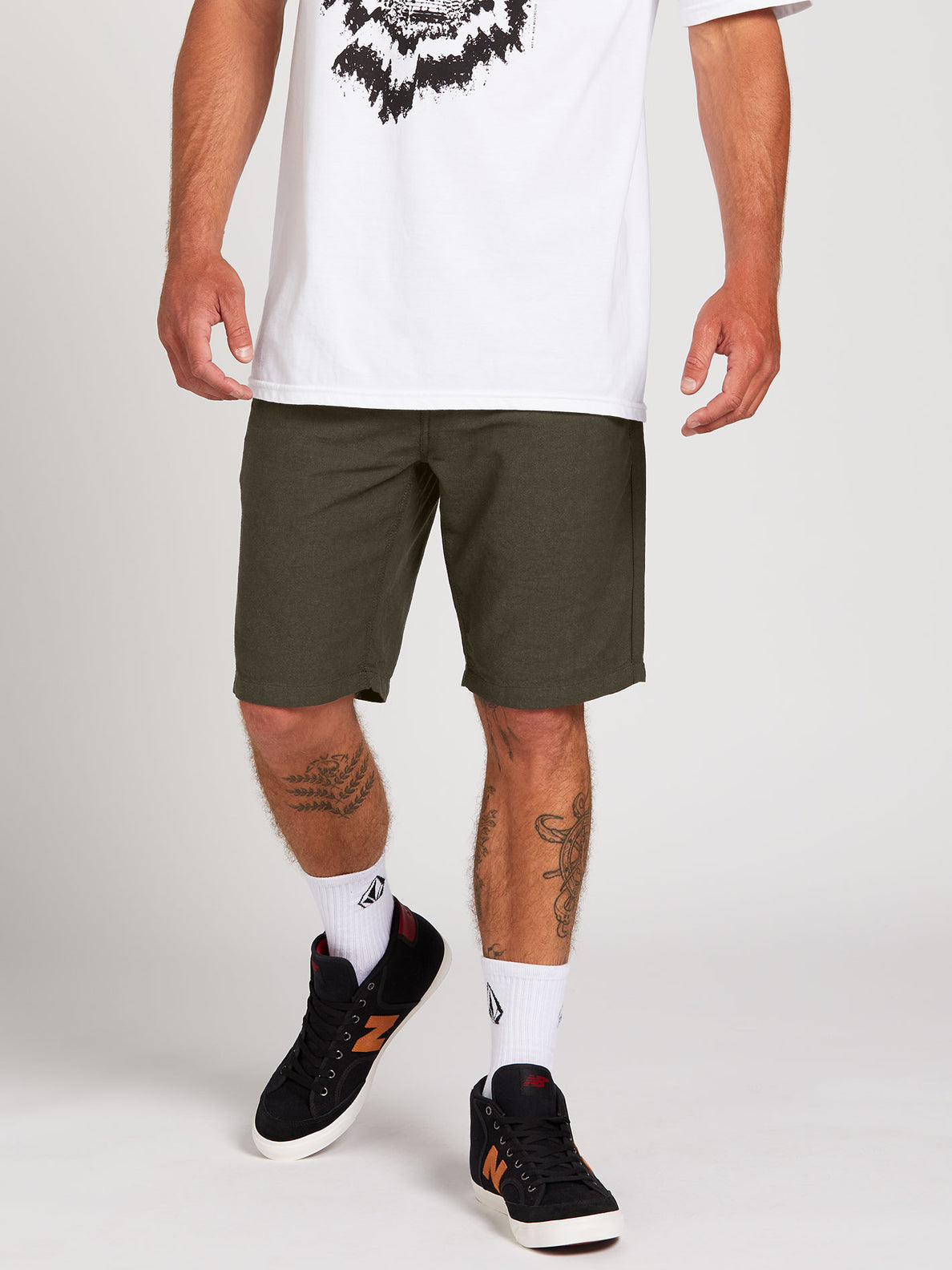 The Down Lo Shorts - Military (A0912001_MIL) [1]