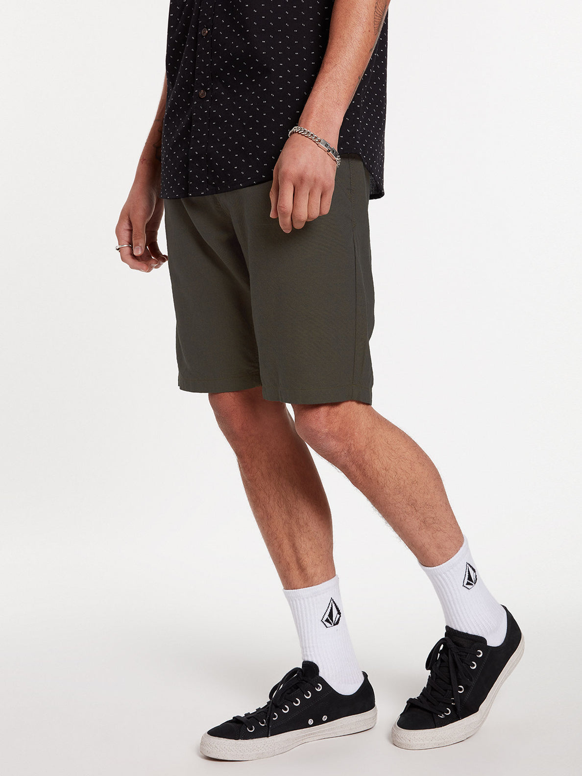 The Down Lo Shorts - Military (A0912001_MIL) [24]