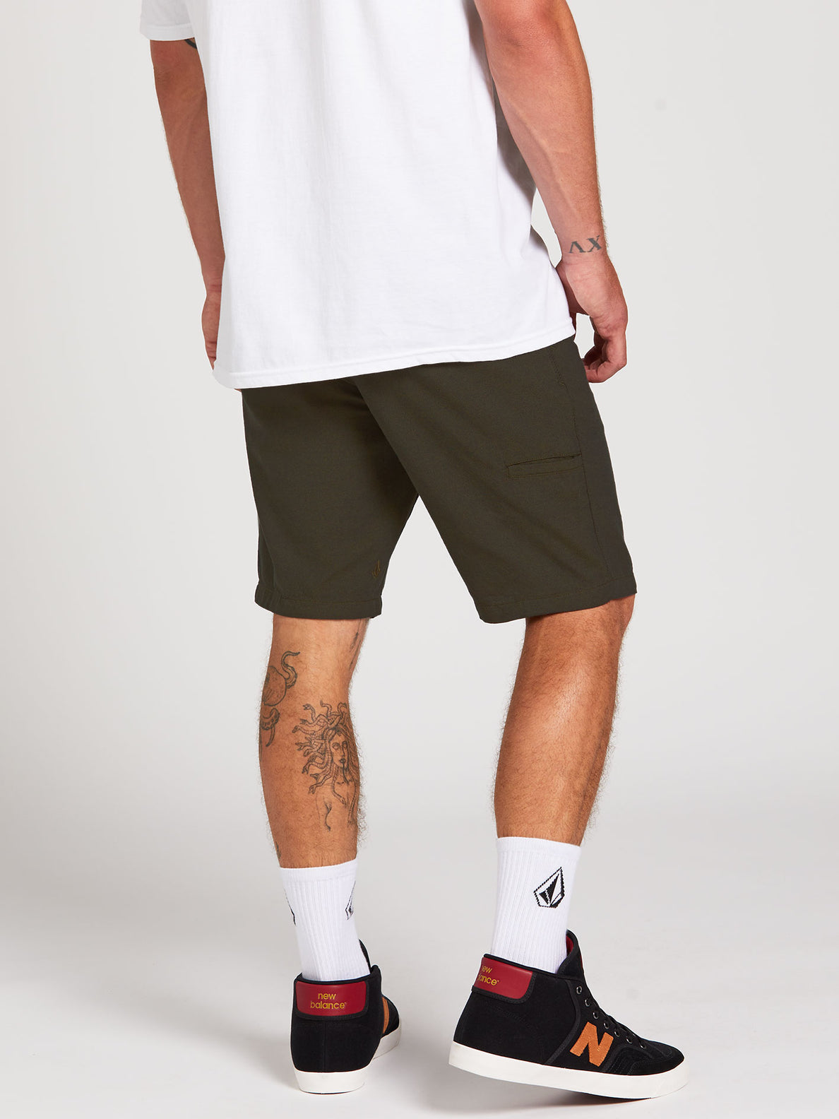 The Down Lo Shorts - Military (A0912001_MIL) [2]