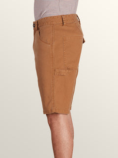 Whaler Utility Shorts In Camel, Alternate View