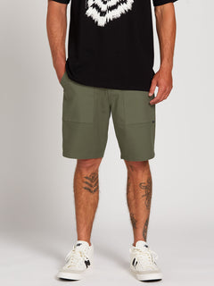 Clockworks Shorts - Army Green Combo (A0922000_ARC) [1]