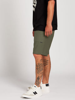 Clockworks Shorts - Army Green Combo (A0922000_ARC) [3]