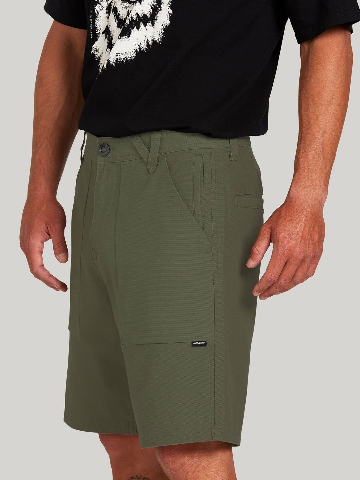Clockworks Shorts - Army Green Combo (A0922000_ARC) [4]