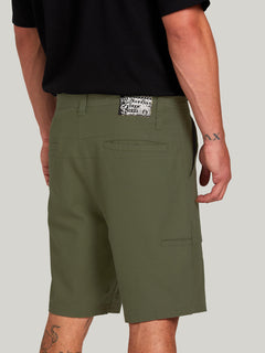 Clockworks Shorts - Army Green Combo (A0922000_ARC) [5]
