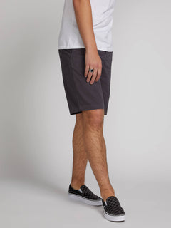 Frickin Down-low Shorts W/ Cell Phone Pocket In Charcoal Grey, Alternate View