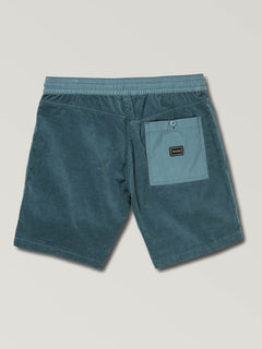 Subscale Cord Elastic Waist Shorts (A1021901_SNV) [6]