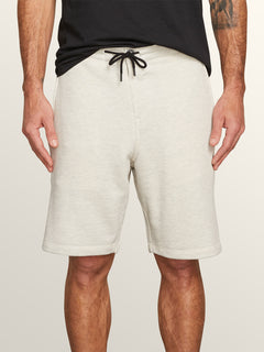 Chiller Shorts In Grey, Front View