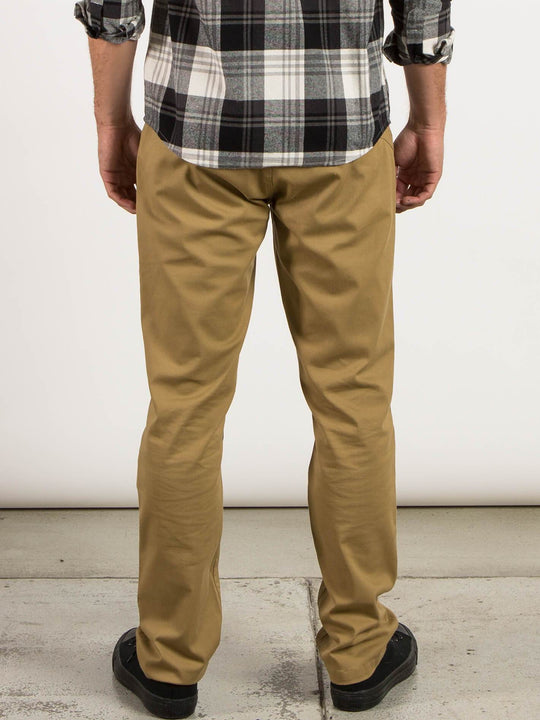 Frickin Modern Stretch Chino Pants - Dark Khaki
