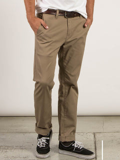 Frickin Modern Stretch Chino Pants In Khaki, Alternate View