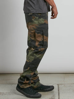 Vsm Stranger Cargo Pants In Camouflage, Second Alternate View