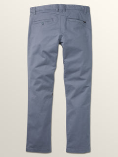 Frickin Slim Chino Pants In Ash Blue, Fourth Alternate View