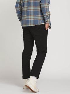 Frickin Slim Chino Pants - Black (A1131601_BLK) [2]
