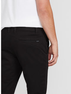 Frickin Slim Chino Pants - Black (A1131601_BLK) [4]