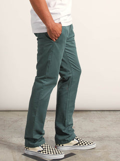 Frickin Slim Chino Pants In Pine, Alternate View
