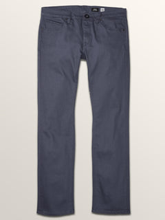 Vorta 5 Pocket Slub Slim Fit Jeans In Midnight Blue, Third Alternate View