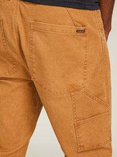 Vsm Whaler Regular Pants In Camel, Third Alternate View