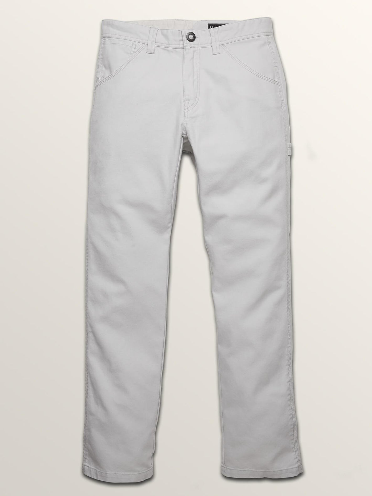 Vsm Whaler Regular Pants In Off White, Sixth Alternate View