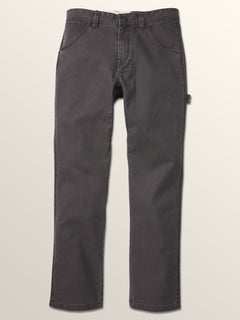 Vsm Whaler Regular Pants In Vintage Black, Third Alternate View