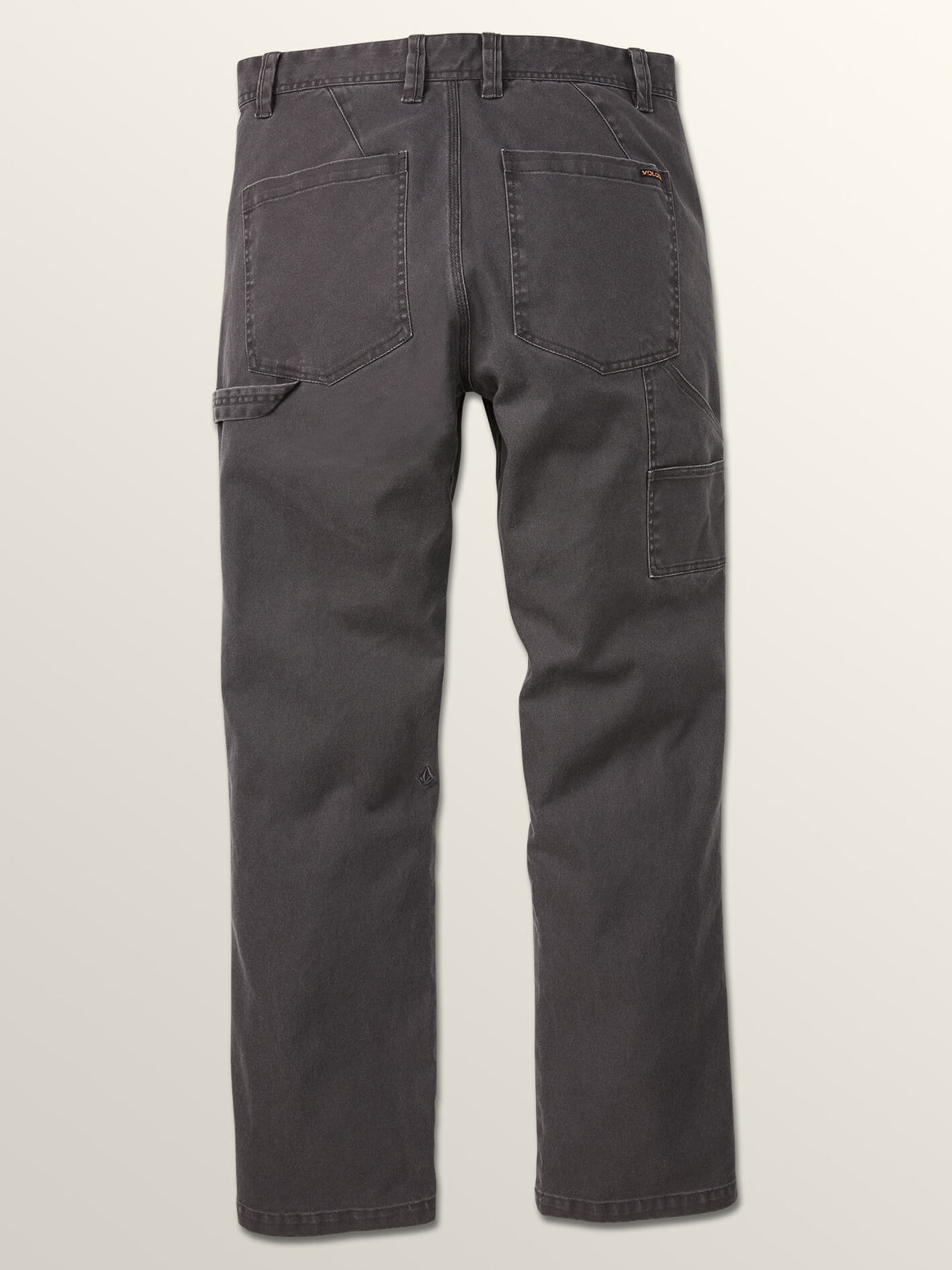 Vsm Whaler Regular Pants In Vintage Black, Fourth Alternate View