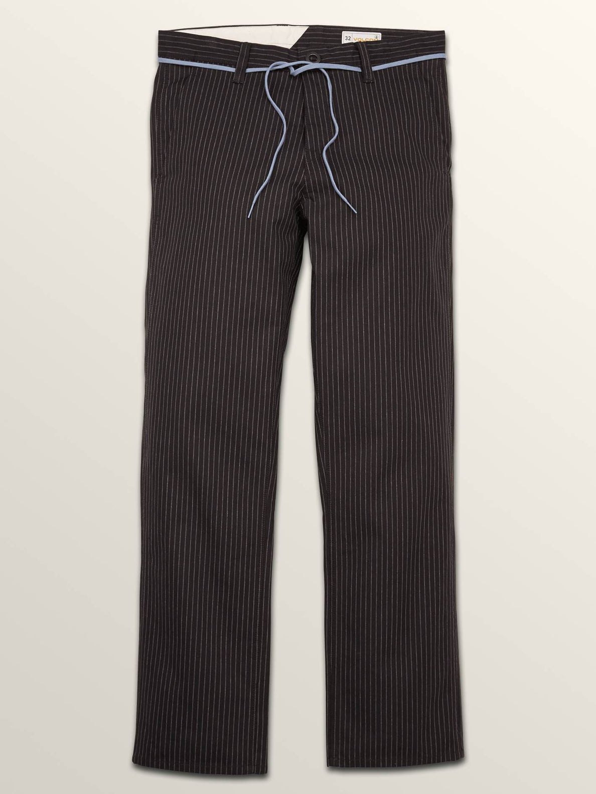 Noa Noise Chino Pants In Black, Fifth Alternate View