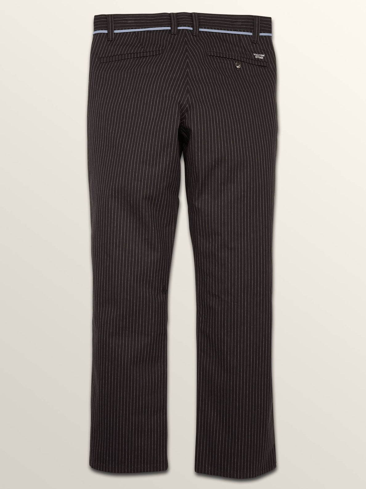 Noa Noise Chino Pants In Black, Sixth Alternate View