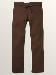 Vsm Gritter Plus Chino Pants In Espresso, Third Alternate View