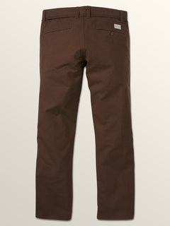 Vsm Gritter Plus Chino Pants In Espresso, Fourth Alternate View