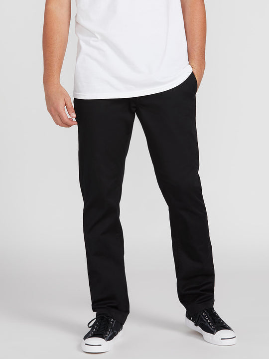 Frickin Modern Stretch Chino Pants - Black (A1131807_BLK) [1]