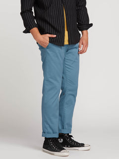 Frickin Modern Stretch Chino Pants In Blue, Alternate View