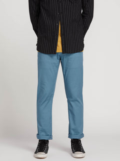 Frickin Modern Stretch Chino Pants In Blue, Second Alternate View