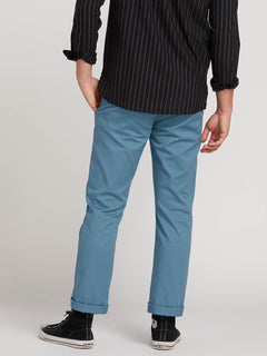 Frickin Modern Stretch Chino Pants In Blue, Third Alternate View