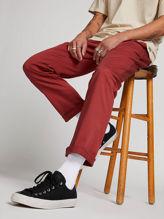Frickin Modern Stretch Chino Pants - Cowhide
