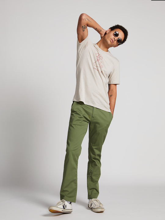 Frickin Modern Stretch Chino Pants - Squadron Green