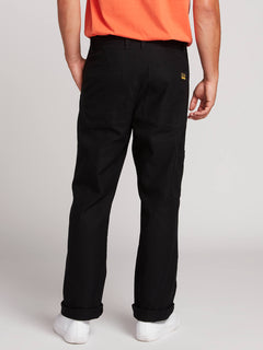 Nailer Canvas Pants - Black (A1131902_BLK) [2]