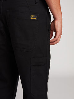 Nailer Canvas Pants - Black (A1131902_BLK) [4]