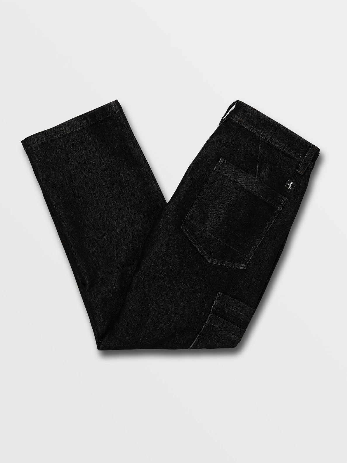 Volcom X Girl Skateboards Chino Pants - Black (A1132005_BLK) [B]