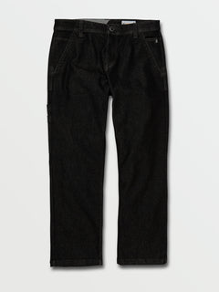 Volcom X Girl Skateboards Chino Pants - Black (A1132005_BLK) [F]