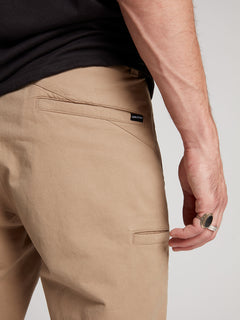Frickin Regular Chino Pants W/ Cell Phone Pocket In Khaki, Fifth Alternate View