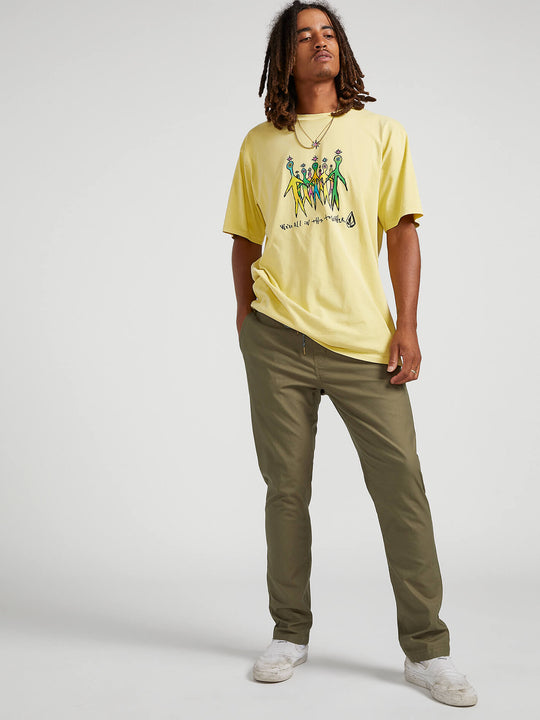 Riser Comfort Chino Pants - Army Green Combo (A1221900_ARC) [02]