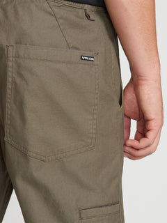 Riser Comfort Chino Pants - Army Green Combo (A1221900_ARC) [5]