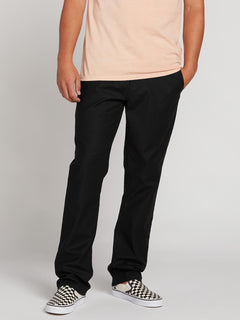 Riser Comfort Chino Pants (A1221900_BLK) [1]