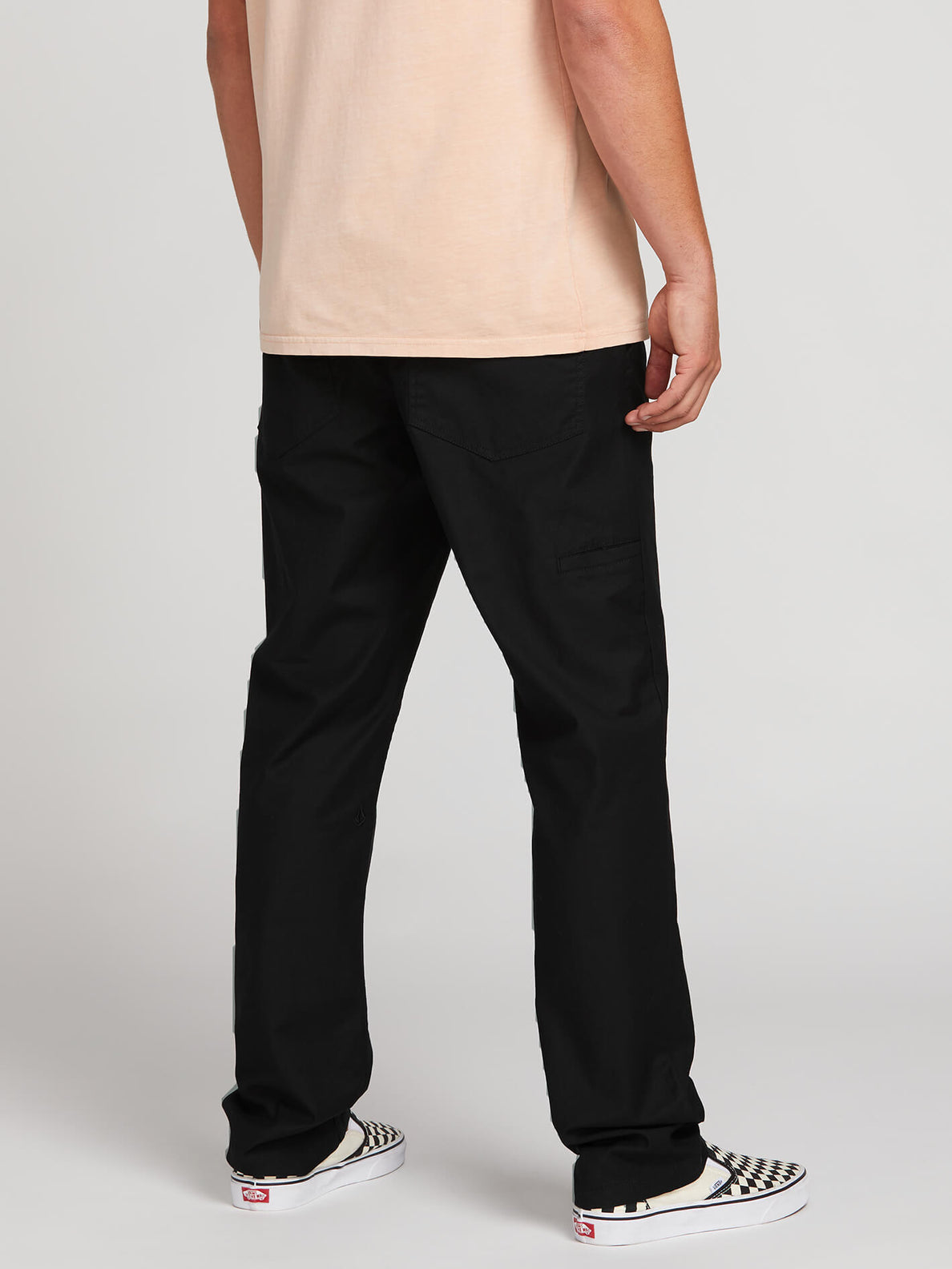 Riser Comfort Chino Pants (A1221900_BLK) [2]