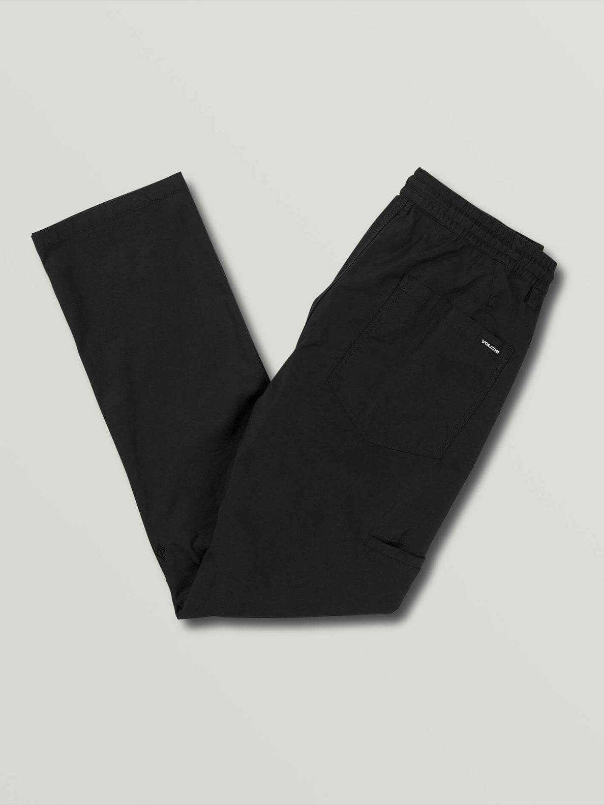 Riser Comfort Chino Pants (A1221900_BLK) [3]