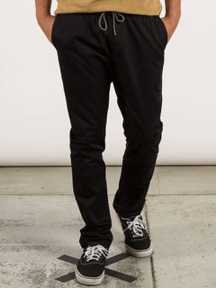 Frickin Comfort Chino Pants In Black, Front View