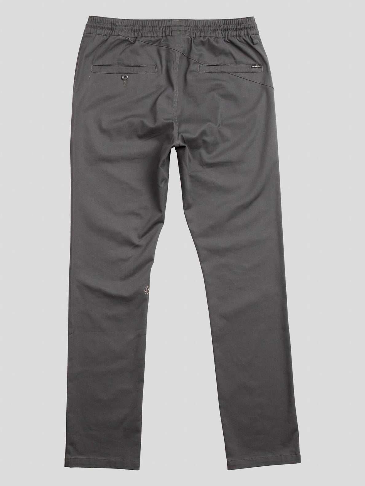 Frickin Comfort Chino Pants In Charcoal Grey, Fourth Alternate View