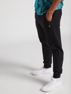 Single Stone Fleece Pants (A1231800_BLK) [06]